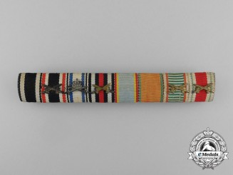 Germany, Imperial. An Eight Section Ribbon Bar
