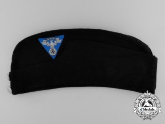 A National Socialist Motor Corps Hessen Enlisted Man's Side Cap