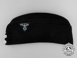 A National Socialist Motor Corps Saxony Enlisted Man's Side Cap