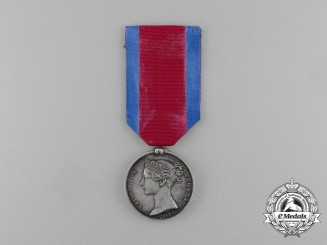A Military General Service Medal to the Battle of Waterloo Veteran; Dragooner Gottfried Heller