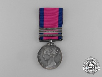 A Military General Service Medal to 2nd Lieut Augustus Pfankuche; King's German Artillery