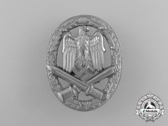 A Mint Second War German General Assault Badge