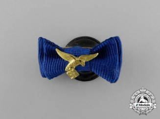 A Luftwaffe 12 Year Long Service Boutonniere