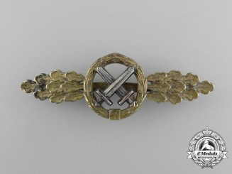 A Gold Grade Luftwaffe Front Flying Clasp to Air to Ground Support by G. H Osang