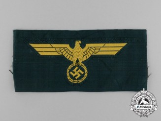 A Mint Kriegsmarine Coastal Artillery NCO/EM Breast Eagle