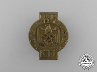 A 1937 Kiel District Festival Badge