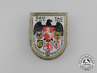 A 1938 South-Hannover/Braunschweig Regional Council Day Badge