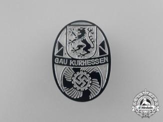 A Third Reich Period Gau Kurhessen KDF Event Badge by Walgo of Kierspe
