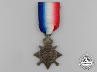 A 1914-15 Star to Driver Waris Ali; 28th Mountain Battery
