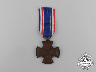 A 1914-1918 Dutch Mobilization Cross