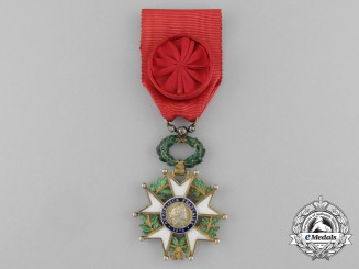 A First War French Legion D'Honneur; Officer's Badge with Diamonds