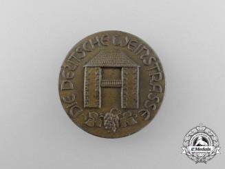 "A Third Reich Period ""The German Wine Street"" Badge by Mannheim of Kaiserslautern"