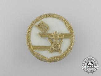 """A 1939 Bremen """"Visit of the Führer"""" Badge by Bruno Mulde of Bremen"""