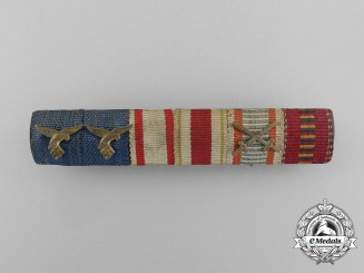 Germany, Luftwaffe. A Long Service Austro- Hungarian Ribbon Bar