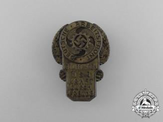 A Third Reich Period KDF Franken Region Badge