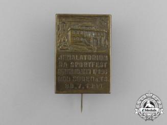 A 1933 SA Sturmbann I/166 Sports Festival in Bad Soden Badge