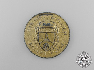 "A 1939 American Kyffhäuser League ""Day of German Soldiers"" Medal"