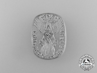 A 1935 HJ German Festival of Youths Badge