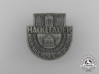 A 1938 125 Year Celebration of the 16th Infantry Regiment Badge