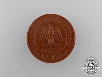 A 1936/37 Winter Relief of the German People Gau Halle-Merseburg Donation Badge