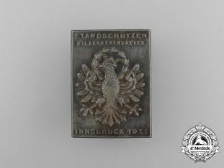 A 1935 Innsbruck (Austria) Marksman Reunion Badge
