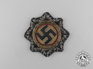 A Uniform Removed Luftwaffe German Cross in Gold
