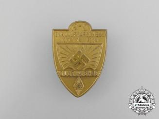 "A A 1934 HJ ""Blood and Honour"" Bann 289 Rally Badge"
