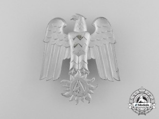 A Third Reich Period SA Eagle Badge