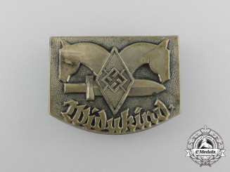A Third Reich Period HJ Saxony-Widokind Event Badge