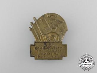 Germany, HJ. A 1934 Bann 122 Meeting in Künzelsau Badge