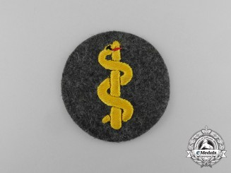 A Mint Wehrmacht Heer (Army) Medical Staff Trade Patch