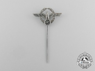 A Second War German Police Member's Lapel Stick Pin
