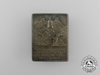 A 1935/36 Duisburg WHW (Winter Relief of the German People) Donation Badge