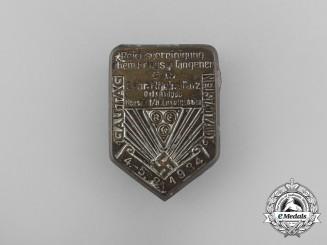 A 1934 Neustadt Reichs Association of Ex-POW's of Saar Rheinpfalz Badge
