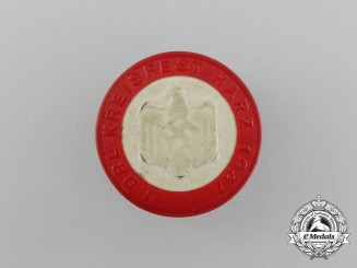 A 1937 Harz 1st DRL (German League of the Reich for Physical Exercise Festival Badge
