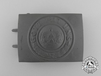 A Mint and Unissued First War German Reichsheer EM/NCO's Belt Buckle