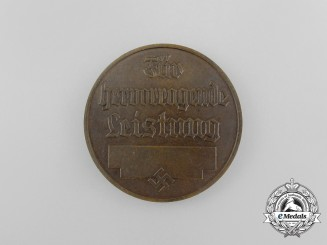 An Association for the German Kennels Table Medal for Outstanding Performance
