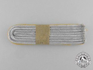 A Mint Pair of Wehrmacht Heer (Army) Cavalry Lieutenant Shoulder Boards