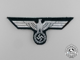 A Tunic Removed Wehrmacht Heer Late War Officer Breast Eagle
