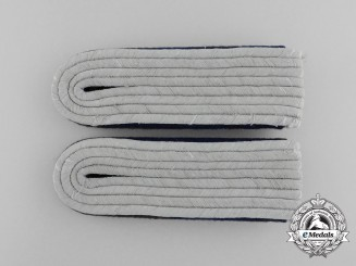 Germany, SS. A Pair of Medical Personnel Untersturmführer Rank Shoulder Boards