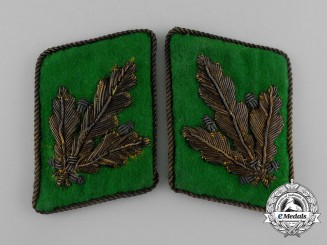 Germany, SS. An Unissued & Rare Pair of SS-Police General Major's Collar Tabs