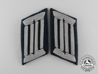 A Pair of Wehrmacht Heer (Army) Combat Engineer Officer's Collar Tabs