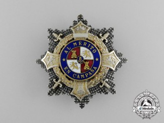 A Spanish War Cross, Type I (1938-1942)
