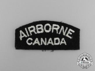 A Canadian Airborne Regiment Shoulder Flash