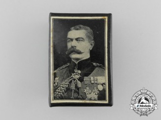 "A First War ""Lord Kitchener"" Commemorative Matchbox Cover"