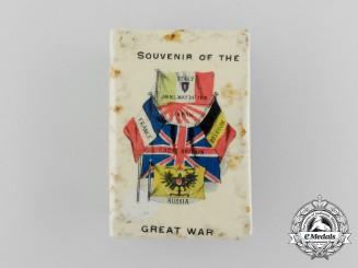"""A First War """"Souvenir of the Great War"""" Commemorative Matchbox Cover"""