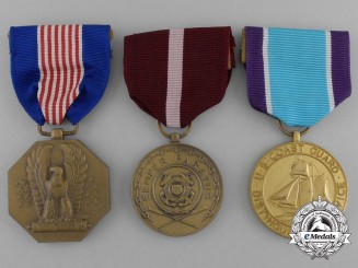 Three American Medals And Awards