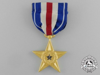 A Second War Period American Silver Star