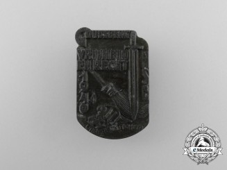 A 1940 Dutch National Socialist Movement Goudsberg Meeting Badge