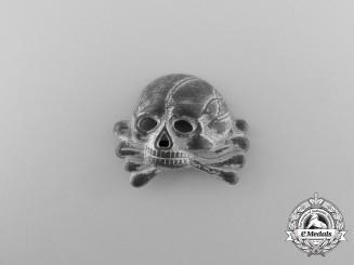 A First Pattern (1925-1935) Danziger SS Skull Cap Insignia
